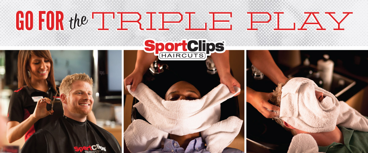 The Sport Clips Haircuts of Denham Springs  Triple Play